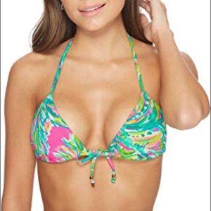 BNWT Lilly Pulitzer Tropic Bikini Top Sz 0
